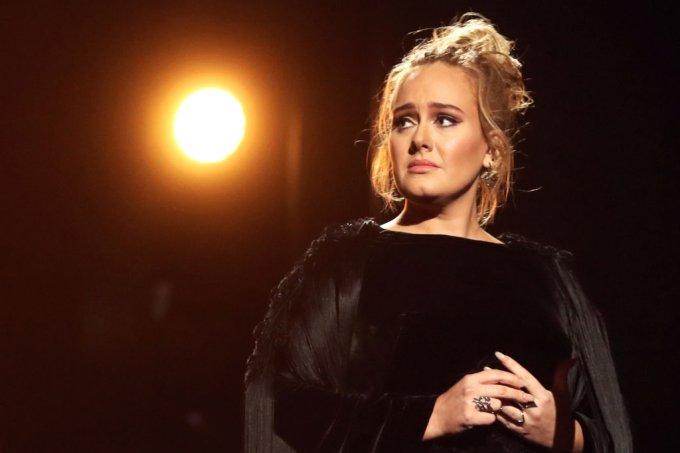 Adele – sonho de fazer show no Brasil cada vez mais longe