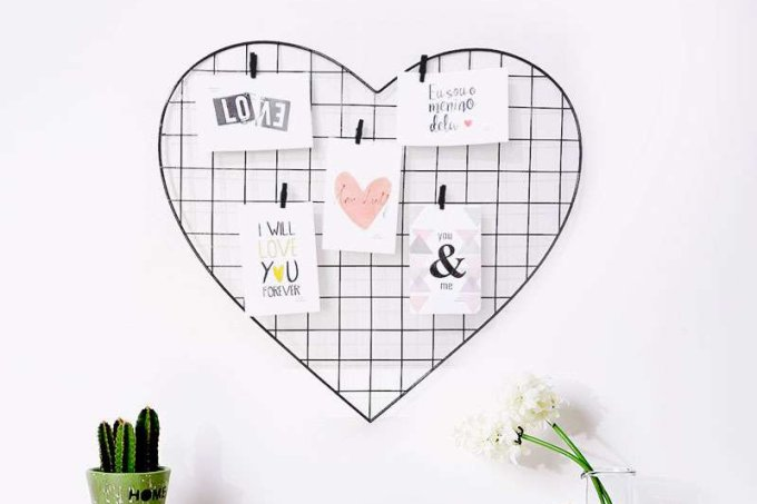 Memory Board Painel Mural de fotos Dia dos Namorados