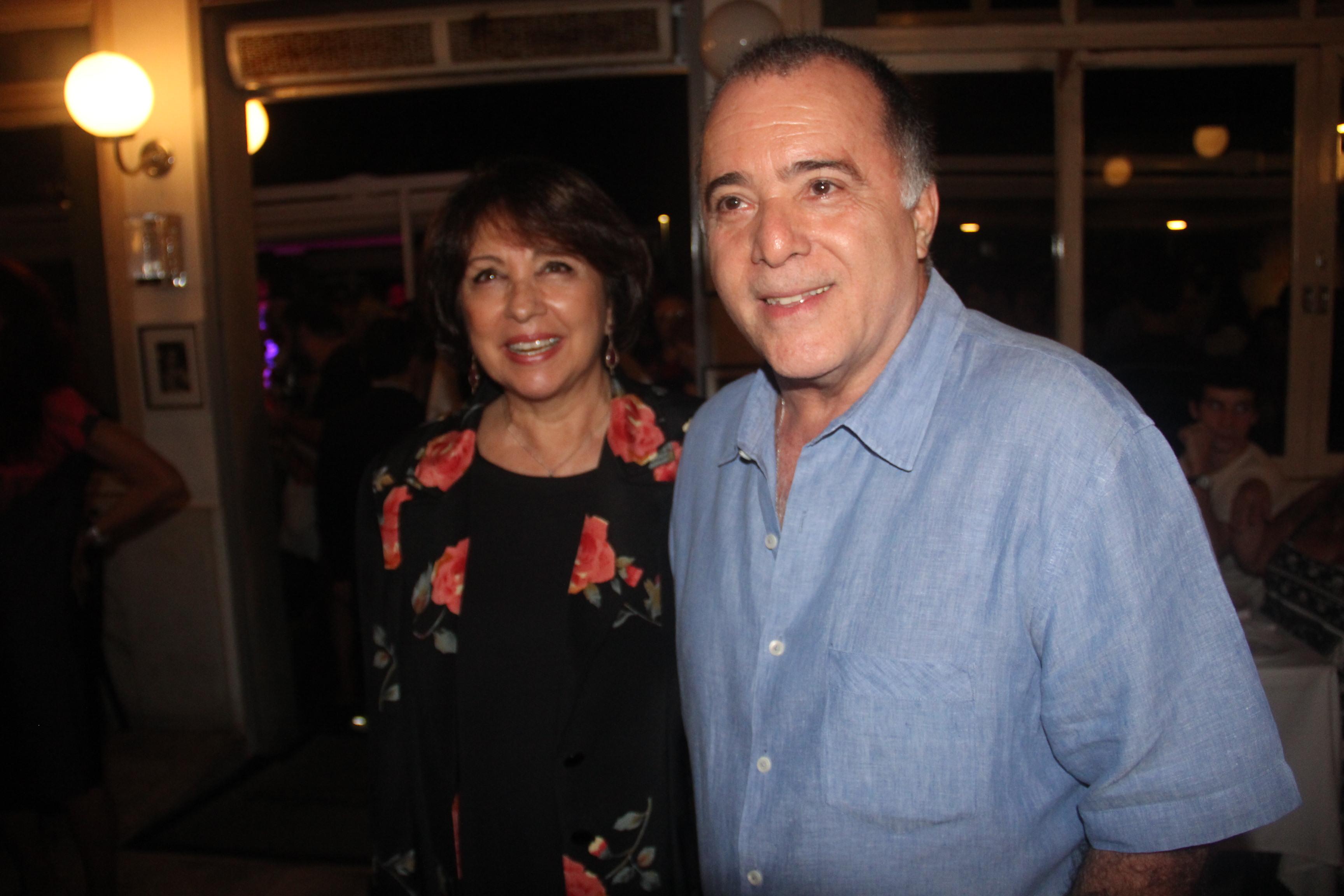 Tony Ramos e Lidiane Barbosa