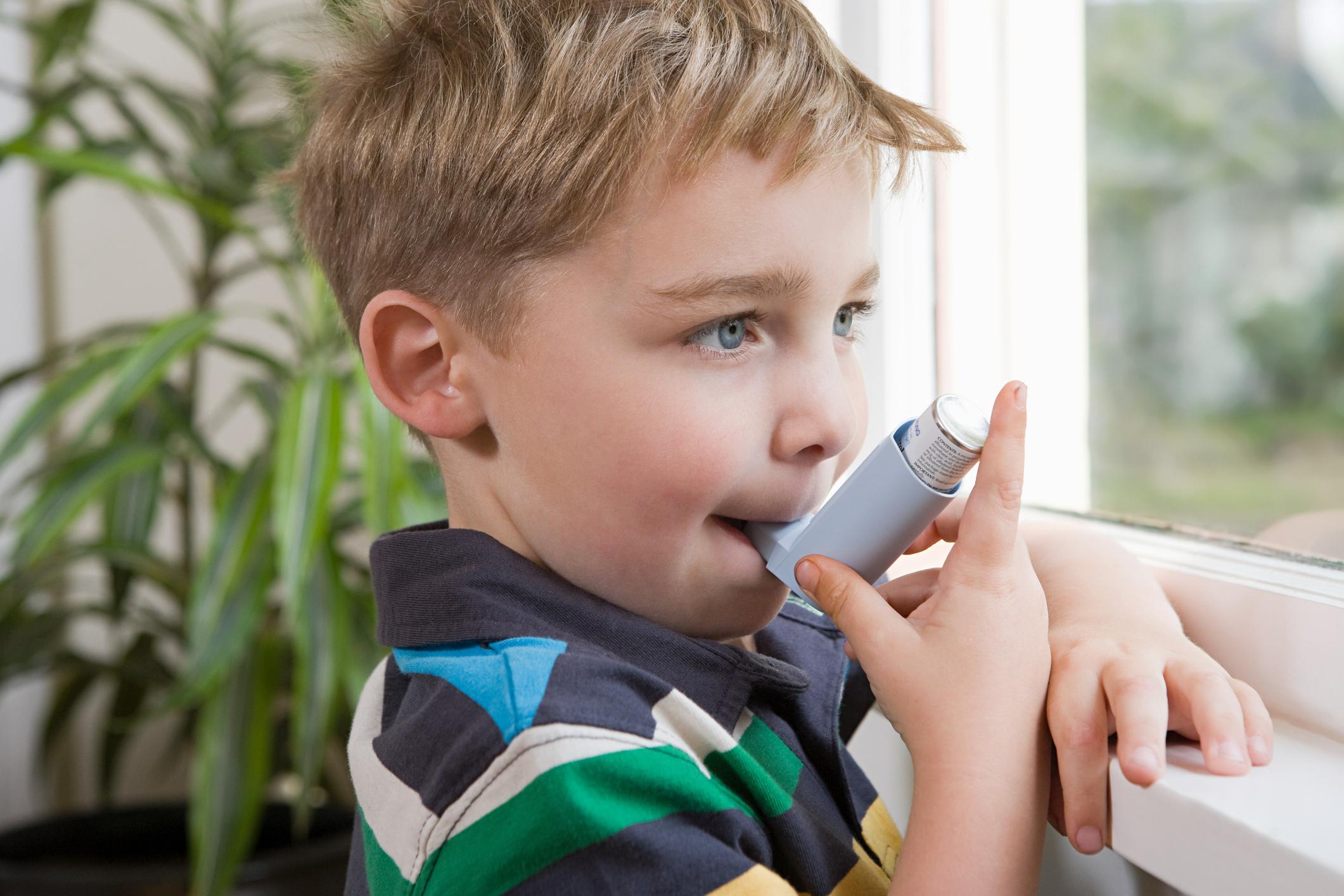Alergias mais comuns da infância- asma