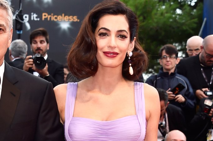 Amal Clooney e George Clooney