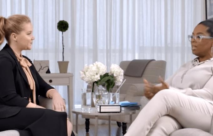 Amy Schumer e Oprah Winfrey Relacionamento abusivo