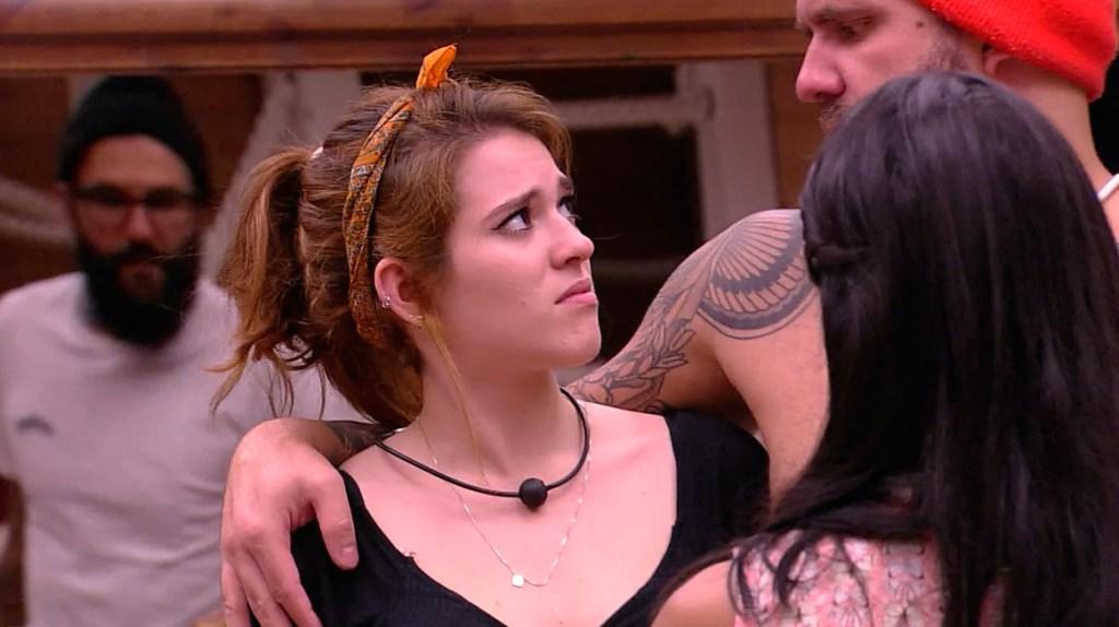 Ana Clara discute com Caruso BBB18