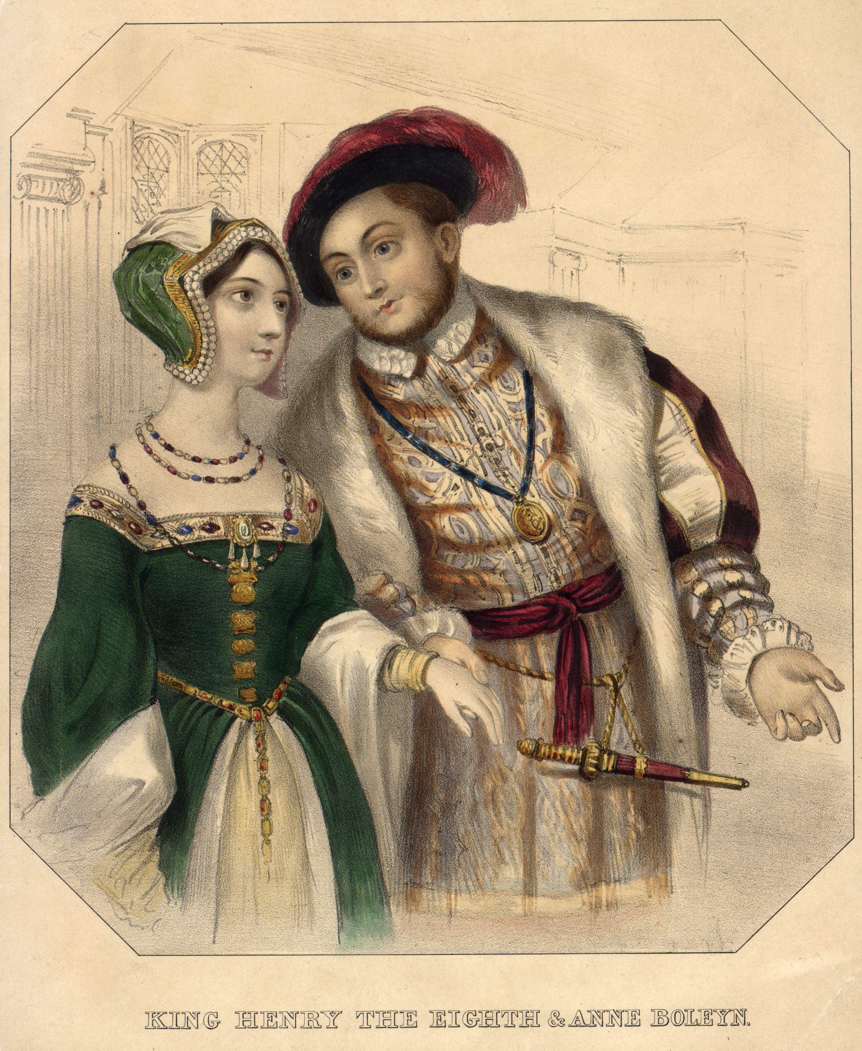Ana de Bolena e Henrique VIII