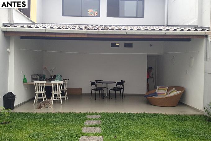 ANTES Casa Concreto