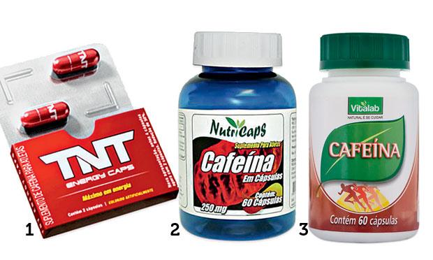 Cápsulas de cafeína estimulam o emagrecimento