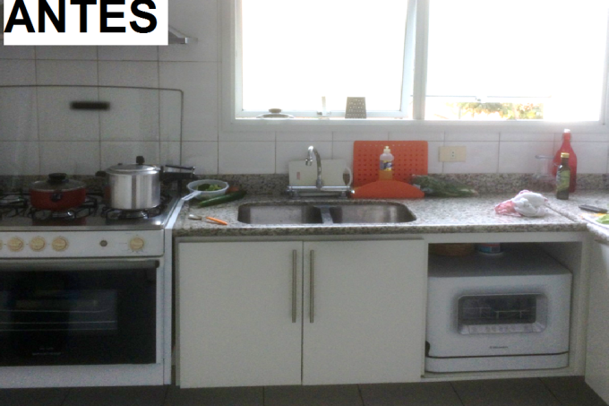antes reforma Cozinha Milene Oliveira
