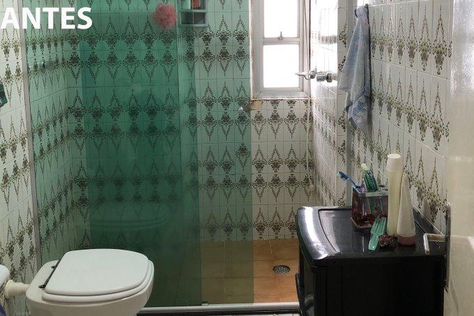 Antes e depois banheiro @concretaarquiteturaexpress