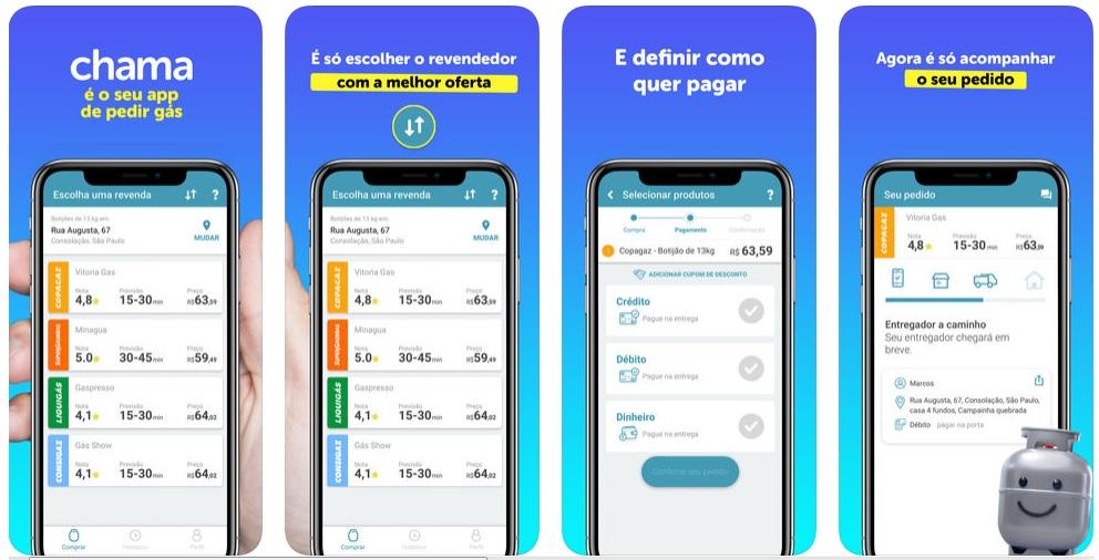 Apps para economizar tempo no dia a dia Chama