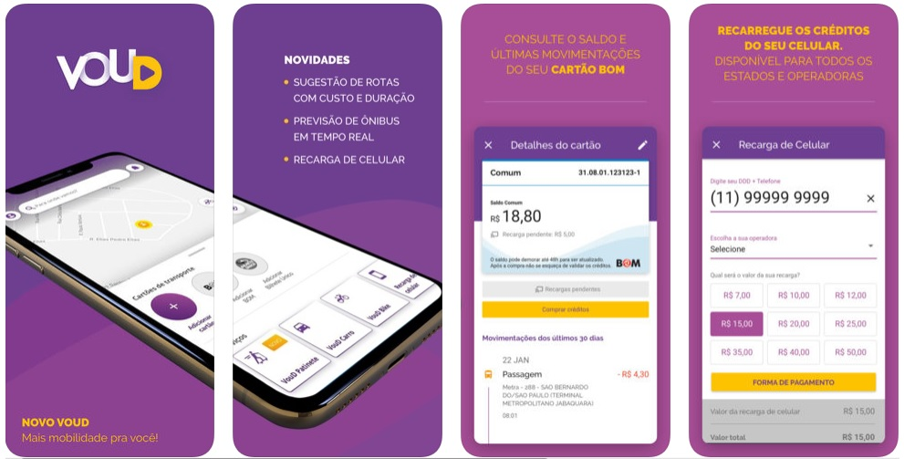 Apps para economizar tempo no dia a dia VouD