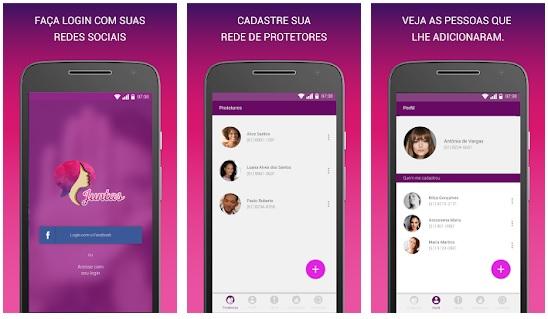 Apps violência doméstica Juntas