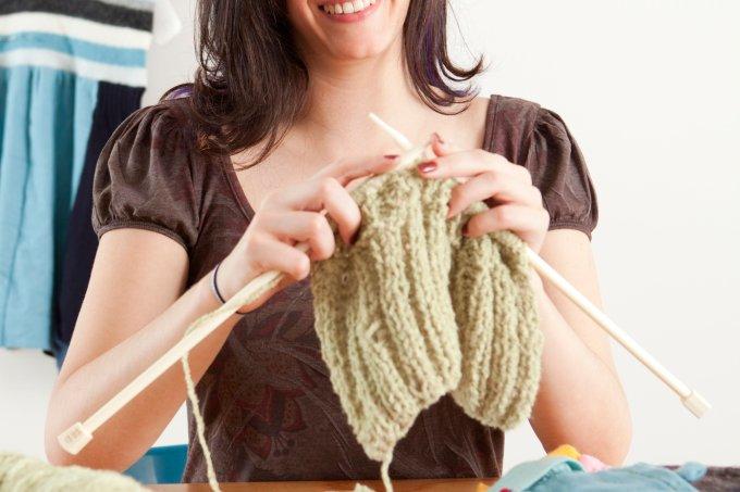 Tutoriais para aprender a tricotar