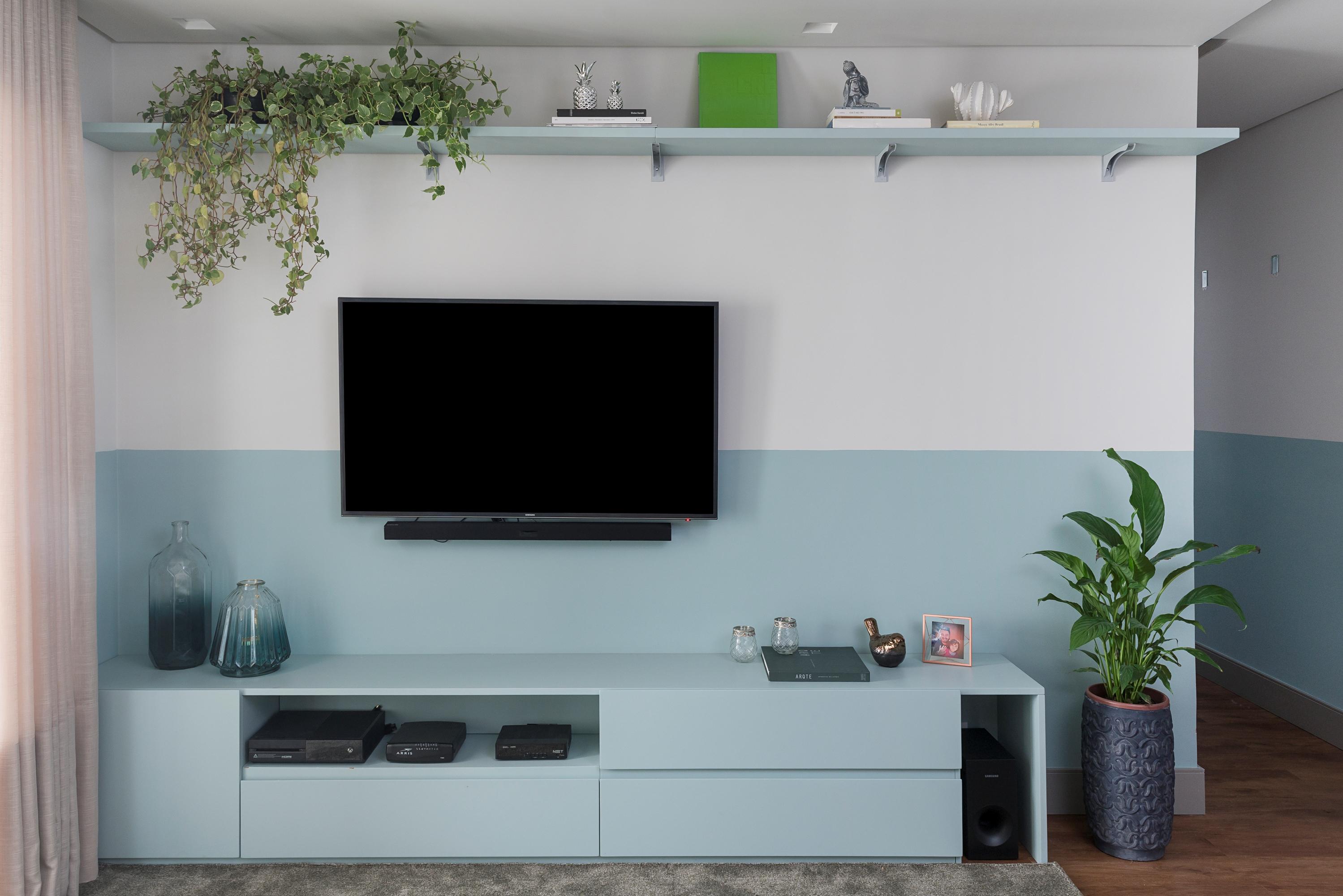 apê uvva meia parede azul