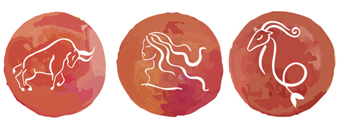 Astrologia - Signos de terra - Touro Virgem Capricórnio