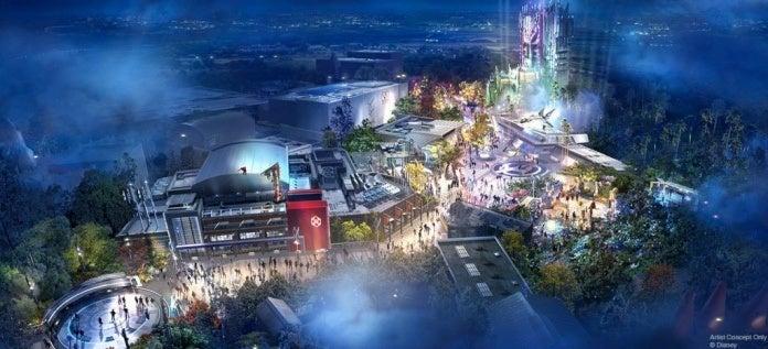 Avengers Campus, parque da Disneyland