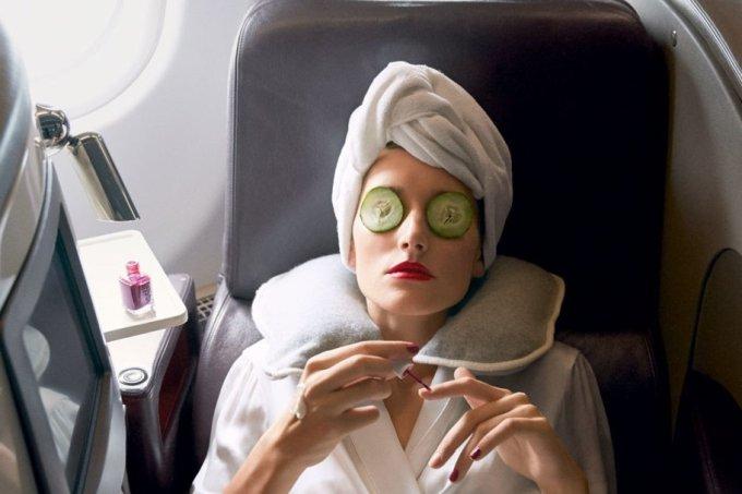 Quais cuidados você deve ter com a pele ao viajar de avião?