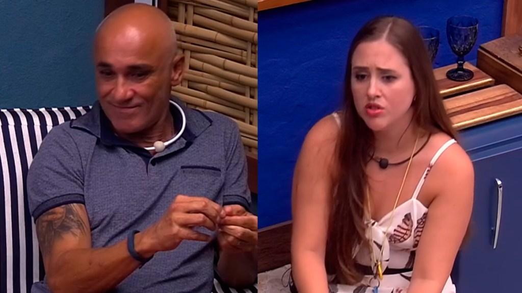 Ayrton discute com Patrícia BBB18