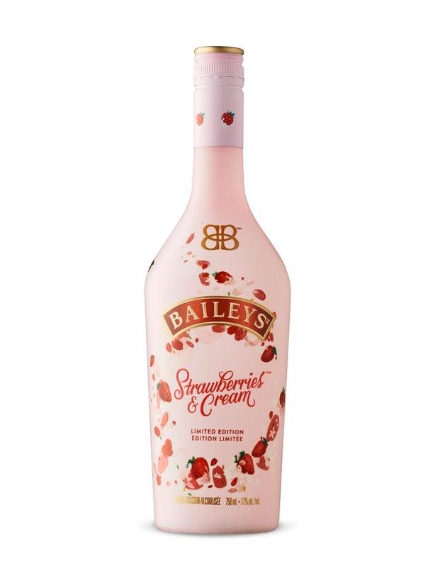 Baileys lança licor rosa millennial sabor morango e creme
