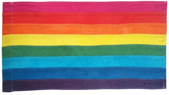 bandeira lgbt original de gilbert baker