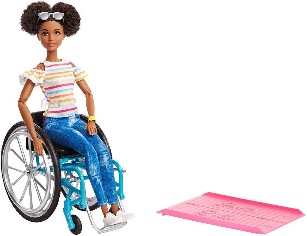 Barbie cadeirante