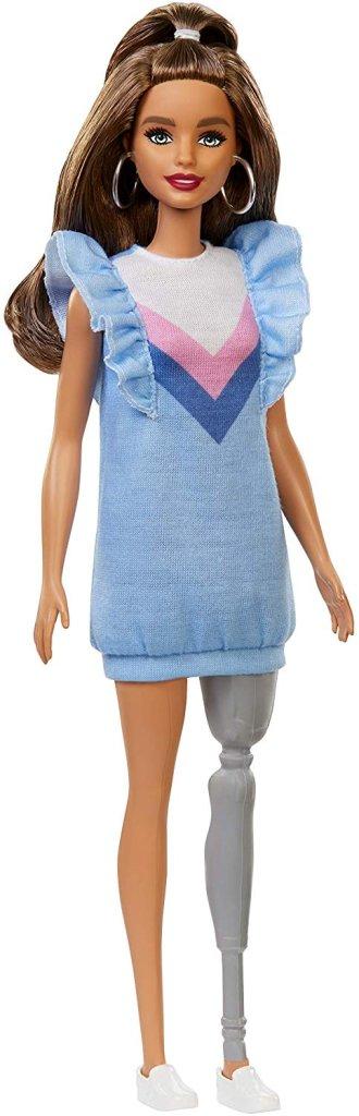 barbie perna protética