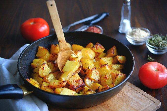 Batatas à dorê