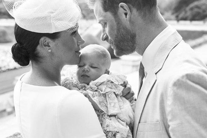 batizado archie família real