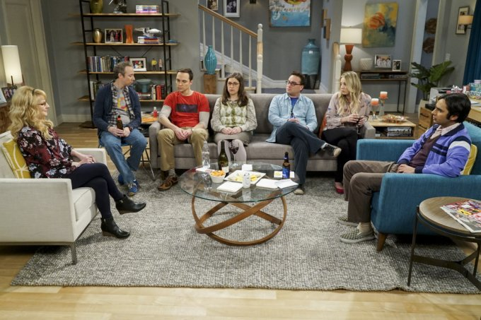 elenco de the big bang theory