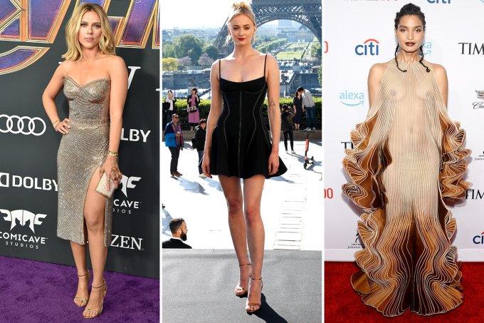 Scarlett Johansson, Sophie Turner e Indya Moore