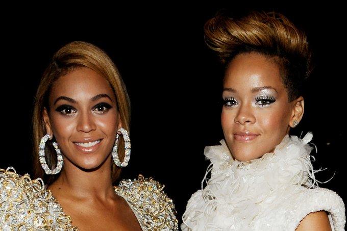 Beyoncé e Rihanna juntas no Grammy