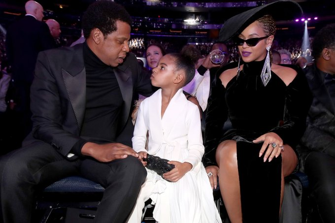 Beyoncé, Blue Ivy e Jay-Z