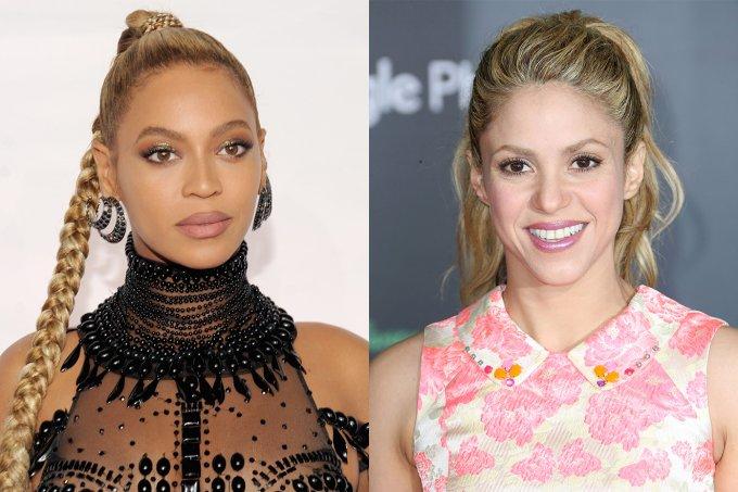 Beyoncé e Shakira