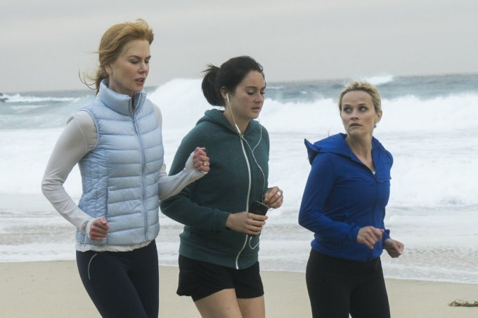 "Nicole Kidman, Shailene Woodley e Reese Witherspoon em ""Big Little Lies"""