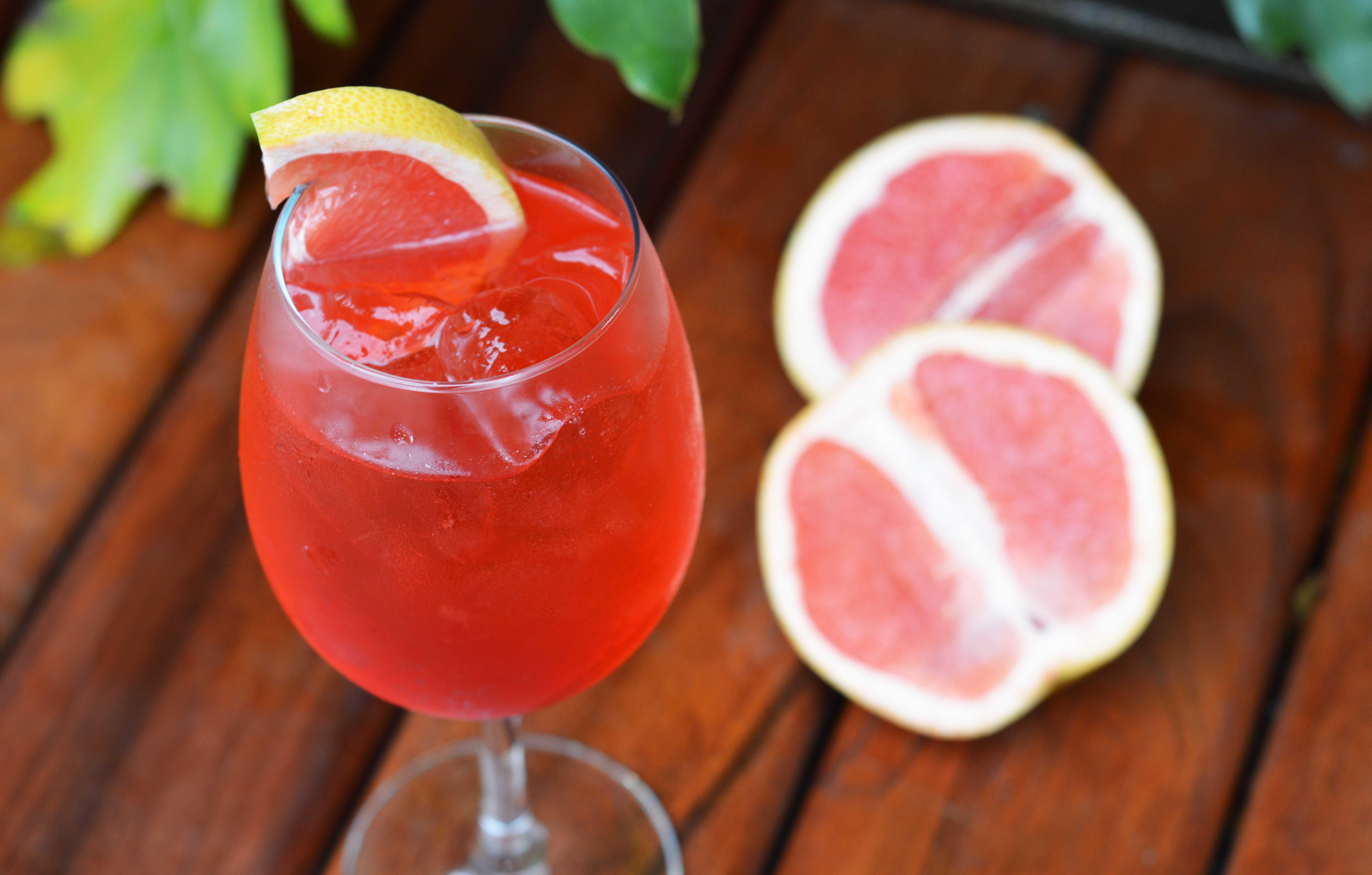 Drinks com Gin: Bloody Orange Spritz