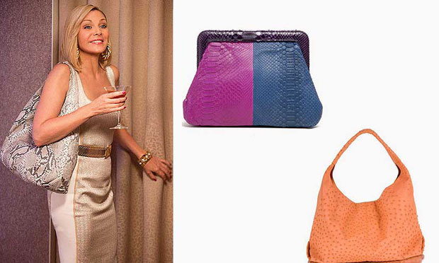 Bolsas e carteiras da designer Adriana Castro