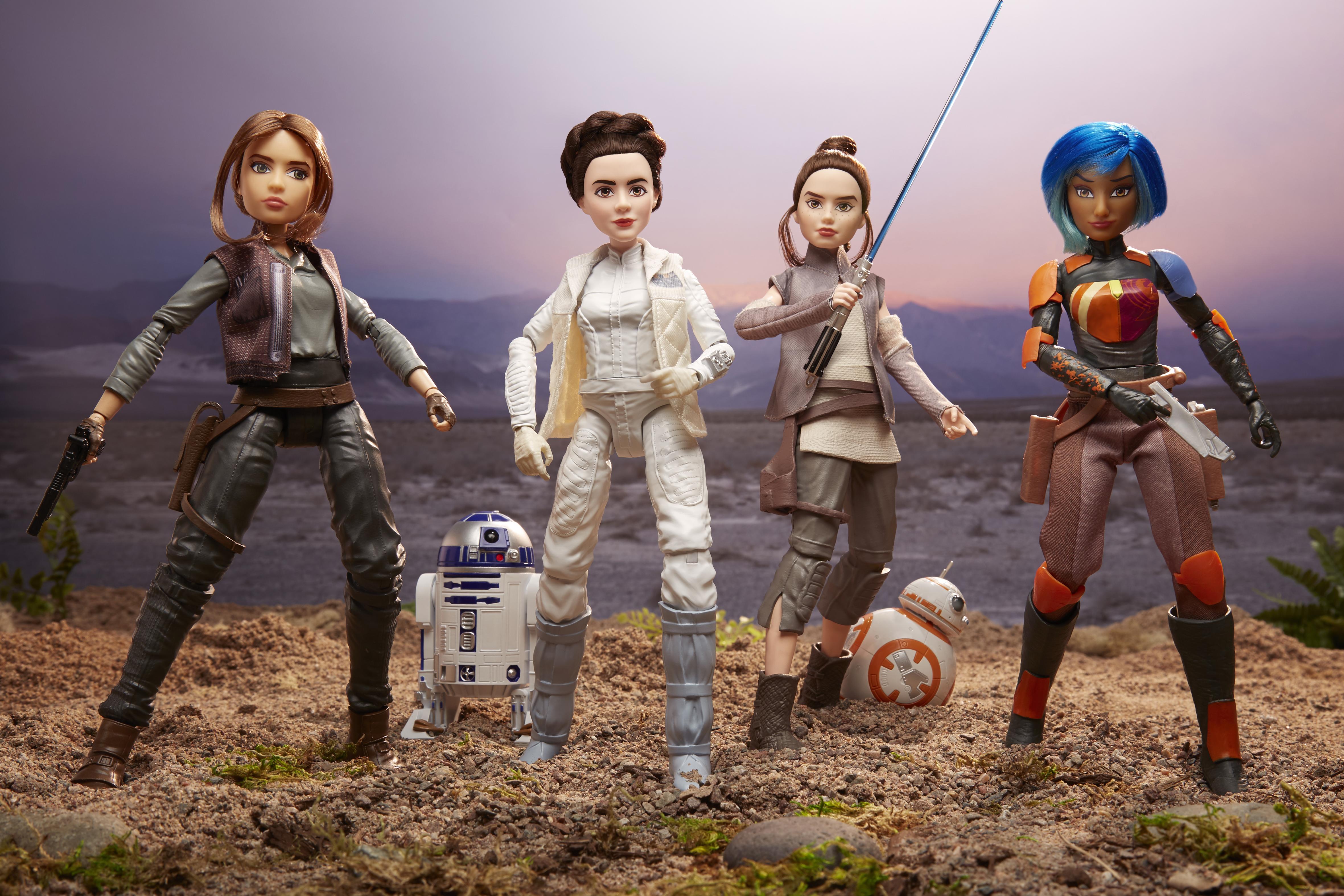 Bonecas Star Wars - Forças do Destino