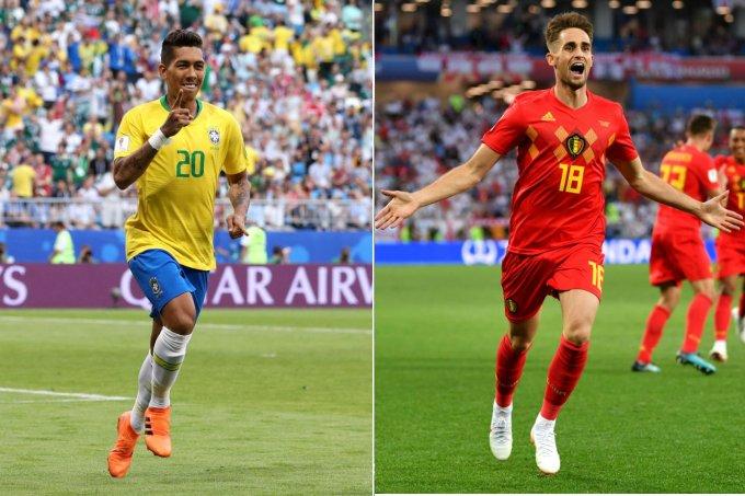 brasil e belgica copa do mundo