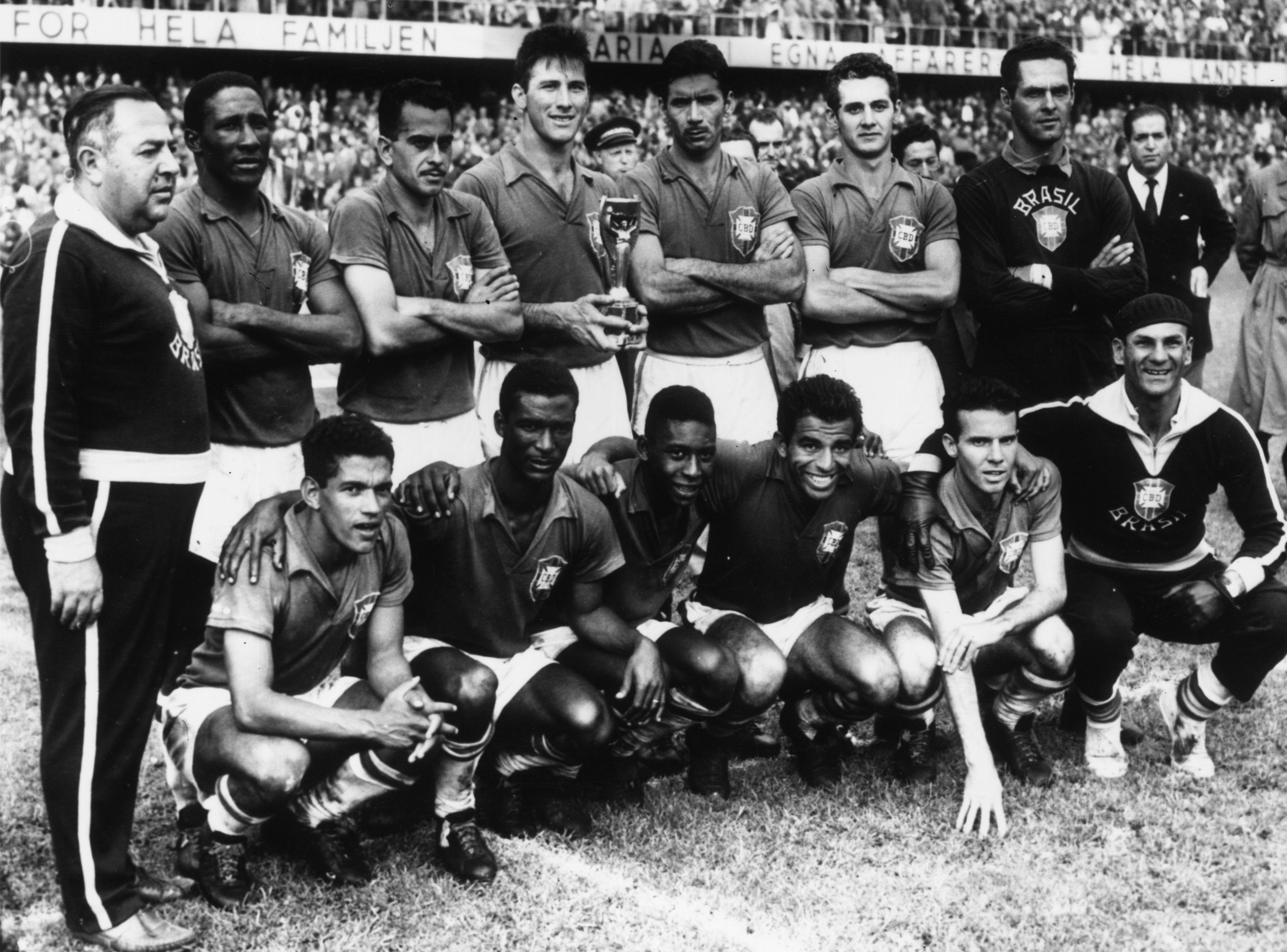 Brasil campeao copa do mundo 1958