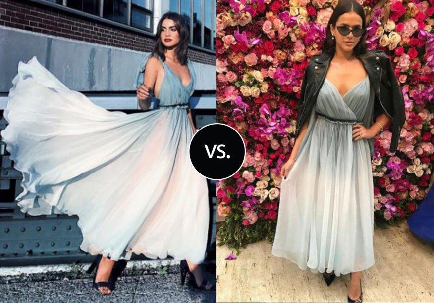 <strong>Bruna Marquezine </strong>e<strong> Camila Coelho </strong>vestem <strong>Dior</strong>. A atrizescolheu o look fluido e super ladylike da marca<span></span>para ir ao casamento de<span></span><strong>Marina Ruy Barbosa</strong><span></span>e combinou a peça com acessórios modernos. Já a influencer usou a produção pelas ruas de Nova York.