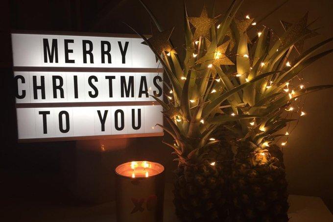 Árvore de Natal de Abacaxi