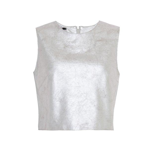 Blusa metalizada, R$ 99,99. <i>*preços checados em março de 2017.</i>