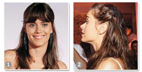 Inspire-se no cabelo de Carolina Dieckmann