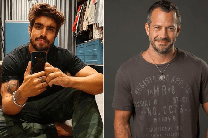 Caio Castro será Rock, Malvino Salvador será Agno, casal na novela A Dona do Pedaço