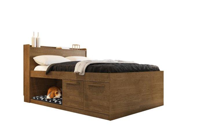 cama com espaço para pet