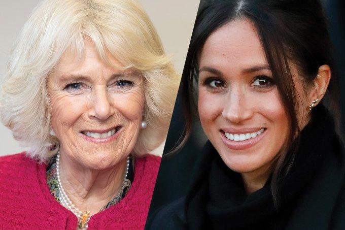 Duquesa Camilla e Meghan Markle