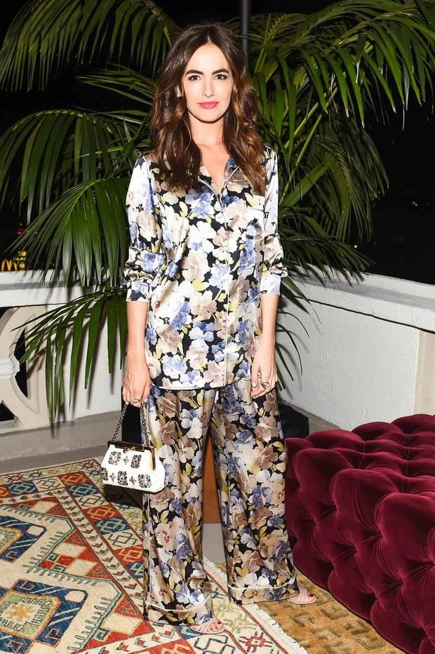 camile belle usa look pijama