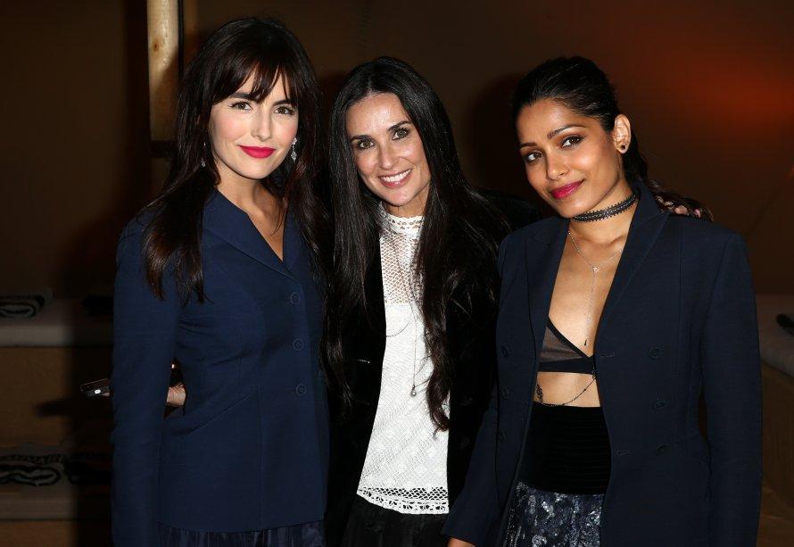 Camilla Belle, Demi Moore e Freida Pinto