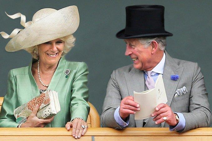 Duquesa Camilla e príncipe Charles