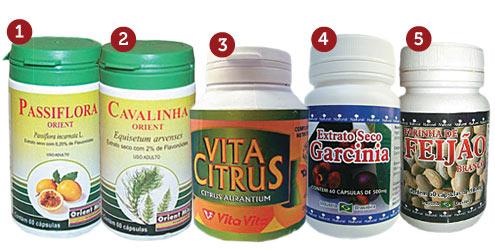 Cápsulas de ervas naturais ajudam a emagrecer