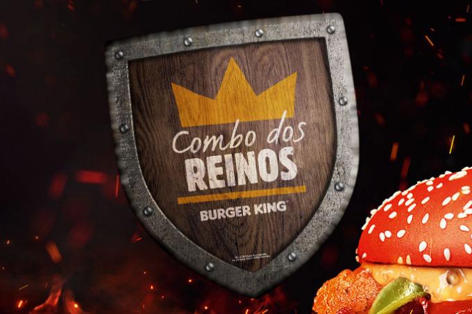 """""""Combo dos Reinos"""", lançamento do Burger King em homenagem a Game of Thrones"""